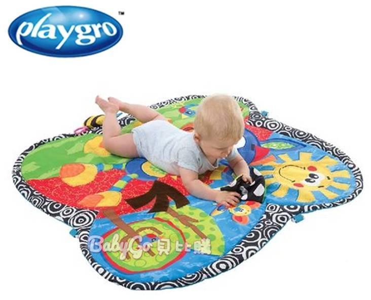 *babygo*Playgro 經典踢踏小馬遊戲墊