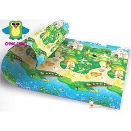 *babygo*親親-兒童雙面遊戲墊AKS303-16【動物園】