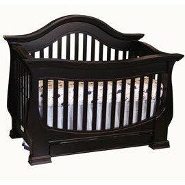 *babygo*LEVANA【皇家系列】莉娃納嬰兒床嬰兒成長床兒童床【黑檀色】預購