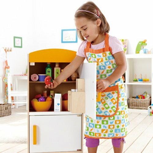 *babygo*德國Hape愛傑卡-角色扮演廚房系列大型冰箱
