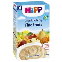 *babygo*喜寶HIPP寶寶水果牛奶穀糊250g