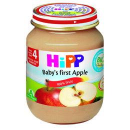 *babygo*喜寶 HIPP有機純蘋果泥125g