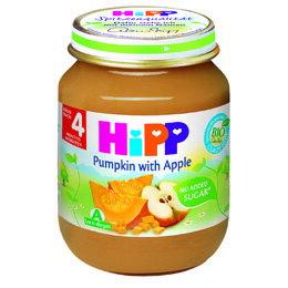 *babygo*喜寶 HIPP有機蘋果南瓜泥125g