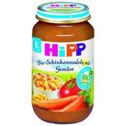 babygo:*babygo*喜寶HIPP天然蔬菜火腿麵220g