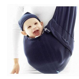 *babygo*荷蘭wallaboo酷媽袋鼠背巾【海軍藍】