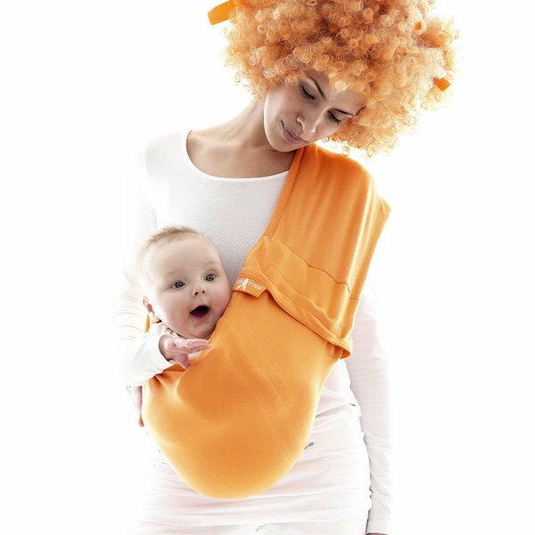 *babygo*荷蘭wallaboo酷媽袋鼠背巾【橘色】