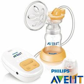 babygo:AVENT吸乳器PHILIPS新安怡標準口徑單邊電動吸乳器