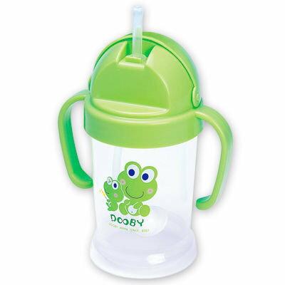 *babygo*DOOBY 大眼蛙卡通神奇喝水杯200cc【綠色】D-4121