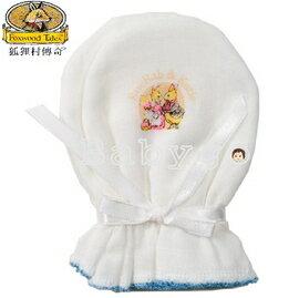 *babygo*狐狸村傳奇高級紗布手套【藍】