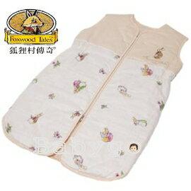 *babygo*狐狸村傳奇-嬰幼兒夏季睡袍-M【米】