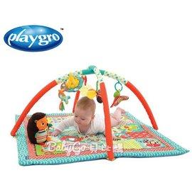 *babygo*Playgro 花園聲光成長遊戲墊