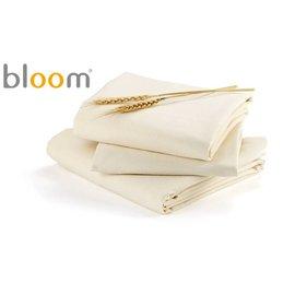 *babygo*美國Bloom -Alma Mini 迷你摺疊嬰兒床配件- 床單2入 (有機棉款)【小麥色】