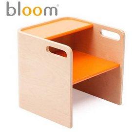*babygo*美國Bloom -pogo 3合1 腳踏凳/坐凳/小桌子【原木橘】