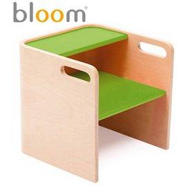 *babygo*美國Bloom -pogo 3合1 腳踏凳/坐凳/小桌子【原木綠】
