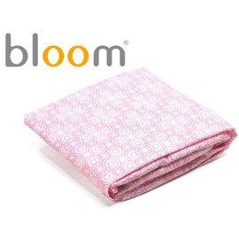 *babygo*美國Bloom -Alma Mini 迷你摺疊嬰兒床配件 - 床單2入(純棉款)【玫瑰粉】