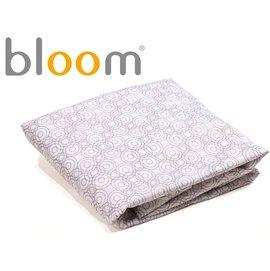 *babygo*美國Bloom -Alma Mini 迷你摺疊嬰兒床配件 - 床單2入(純棉款)【霧灰色】
