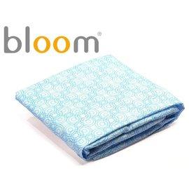 *babygo*美國Bloom -Alma Mini 迷你摺疊嬰兒床配件 - 床單2入(純棉款)【百慕藍】