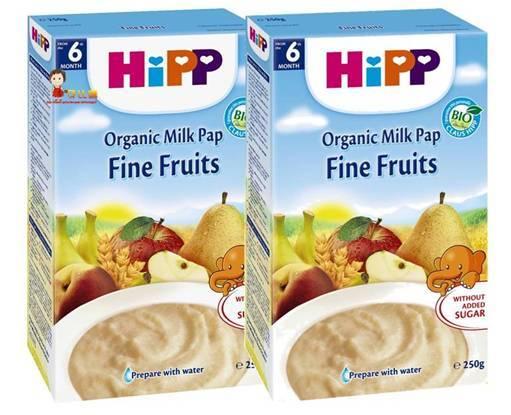 *babygo*喜寶 HiPP 水果牛奶穀糊【2盒】