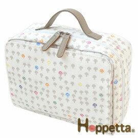 *babygo*日本Hoppetta蘑菇外出收納包【白】
