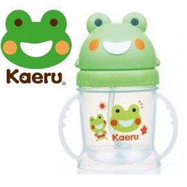 *babygo*哈皮蛙Kaeru-自動吸管滑蓋造型練習杯250ml