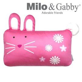 *babygo*Milo & Gabby 動物好朋友-mini枕頭套(LOLA兔兔)不附枕頭