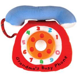*babygo*奇智奇思K'sKids布書-奶奶的熱線電話