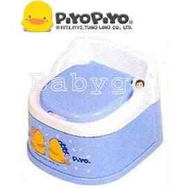 *babygo*黃色小鴨幼兒專用便器【藍色】