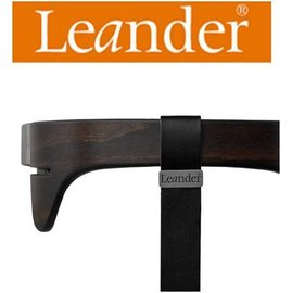 *babygo*丹麥Leander-高腳餐椅配件-二代護欄 【胡桃木】