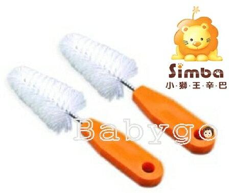 *babygo*小獅王辛巴奶嘴刷(2入)