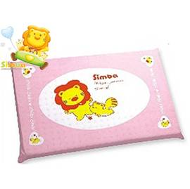 *babygo*小獅王辛巴天然乳膠枕(附套) -粉紅