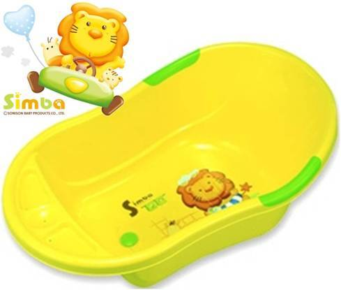 *babygo*小獅王辛巴嬰兒防滑浴盆