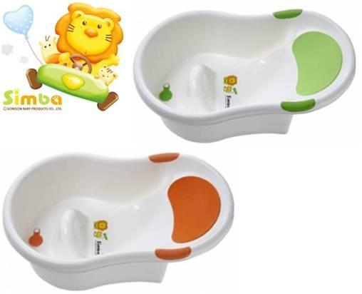 *babygo*小獅王辛巴不滑落浴盆(隨機色)