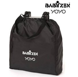 *babygo*法國BABYZEN YOYO-嬰兒手推車收納袋【黑色】