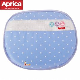 ~babygo~愛普力卡 Aprica ~可水洗透氣護頭枕~雪花藍~