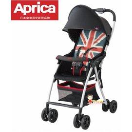 *babygo*愛普力卡Aprica-Magical Air Plus 超輕量單向嬰兒手推車 【英國旗】