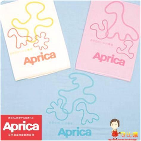 *babygo*Aprica幸福紗布四方大浴巾【藍】