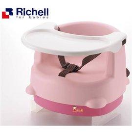 *babygo*利其爾Richell-兩用型便利椅【粉色】
