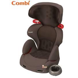 *babygo*Combi Buon Junior Air成長型汽車安全座椅【網眼棕】-外出用品kids003