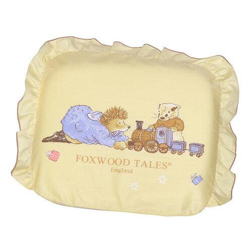*babygo*狐狸村傳奇-乳膠嬰兒造型枕【咖】雙布套