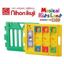 *babygo*日本nihon ikuji兒童音樂遊戲欄-動物遊戲延長片【綠+黃】(經典彩虹屋專用)