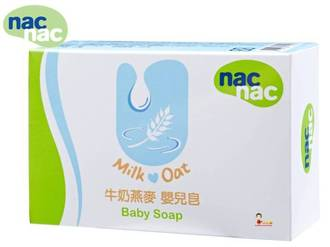 *babygo*Nac Nac牛奶燕麥嬰兒皂/75g