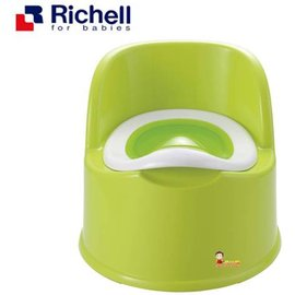 *babygo*利其爾Richell-輕便型便椅【綠】