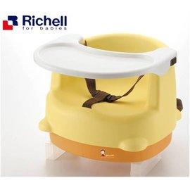 *babygo*利其爾Richell-兩用型便利椅【黃色】