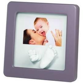 *babygo*比利時Baby Art Photo Sculpture Frame 3D立體手腳模相框(最佳彌月禮)顏色隨機出貨