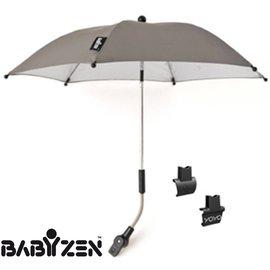 *babygo*法國BABYZEN ZEN嬰兒手推車陽傘【灰色】
