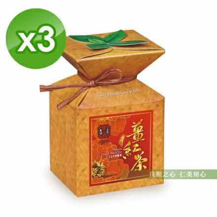仁美良食:豐滿生技台灣特級薑紅茶(20包盒)x3