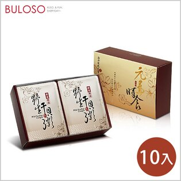 《不囉唆》琉元堂-野生干貝粥10入禮盒補品健康天然海鮮(不挑色款)【A427905】