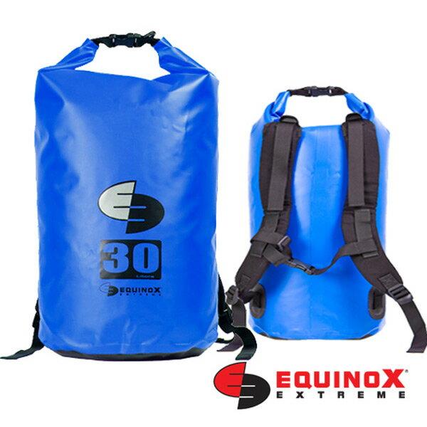 【鄉野情戶外用品店】 EQUINOX  美國  雙肩防水袋背包/防水包 溯溪包 泛舟-藍/131125 【容量30L】