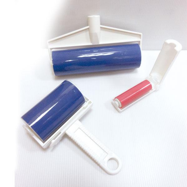 週年慶-《魔特萊Motely》環保日式萬用黏巴達自黏除塵滾筒-收納三件組(大中小含桿)