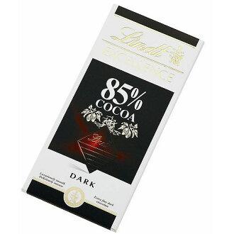 瑞士蓮極醇系列85%薄片巧克力100g【愛買】